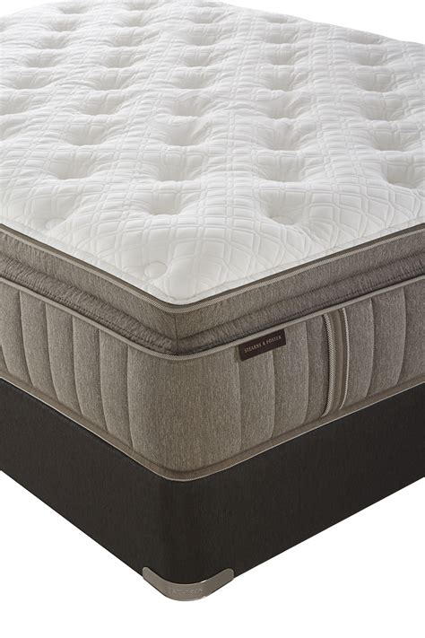 Stearns And Foster King Size Pillow Top Mattress by Stearns Foster Mckee Luxury Plush Pillowtop King