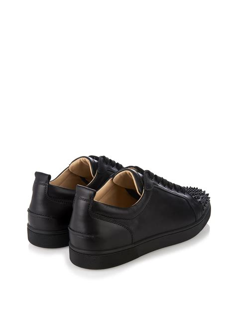 christian louboutin for sneakers christian louboutin louis junior spikes leather low top