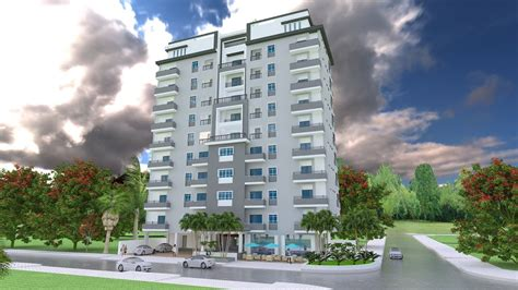 design apartment sketchup sketchup 3d model 11 stories apartment exterior design
