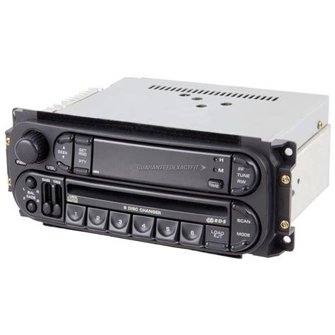 ram truck radio 2005 dodge ram trucks radio or cd player from car parts