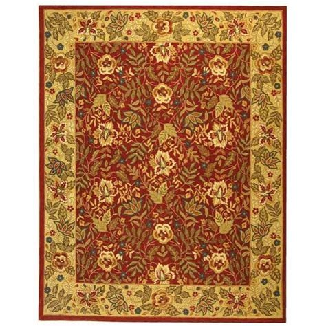 9 X 11 Area Rugs Safavieh Chelsea Ivory 8 Ft 9 In X 11 Ft 9 In Area Rug Hk140c 9 The Home Depot
