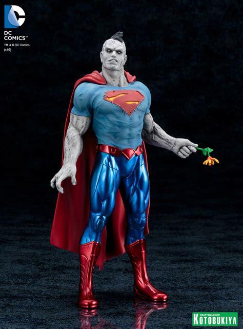 Superman Bizzaro Figure Bizarro Superman New 52 Artfx Statue By Kotobukiya