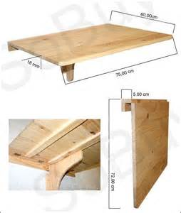 25 best ideas about wall tables on wall
