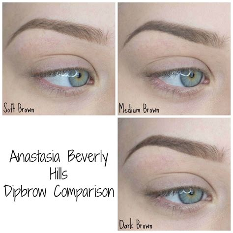 dipbrow colors beverly dip brow pomade trendhop fashions