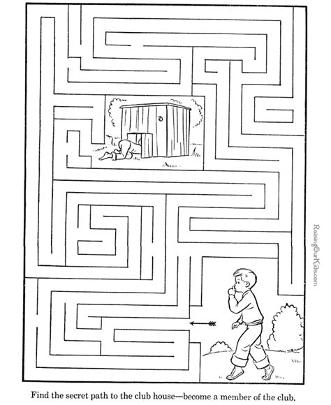 printable maze passages bible path maze free colouring pages