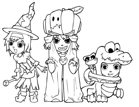 coloring book pages halloween halloween colorings