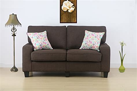 life home furniture home life 2 person love seat contemporary pocket coil