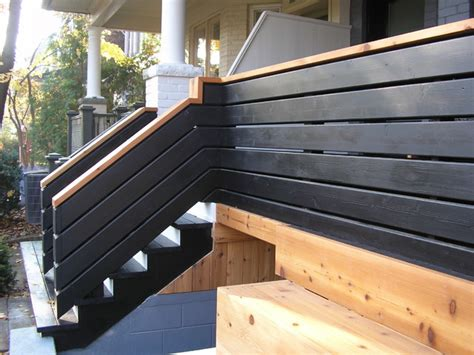 custom cedar fencing  deck contemporary porch