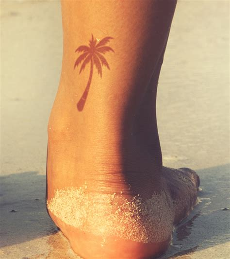 small palm tree tattoos 35 best palm tree designs for summer vibes tats
