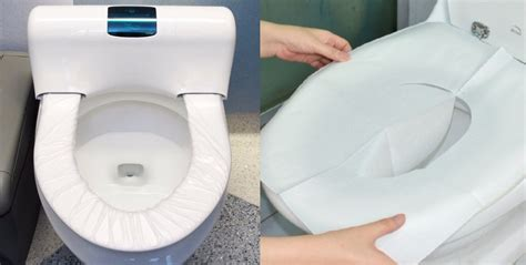 toilet paper on public toilet seat reason for why you should not line toilet seats with paper