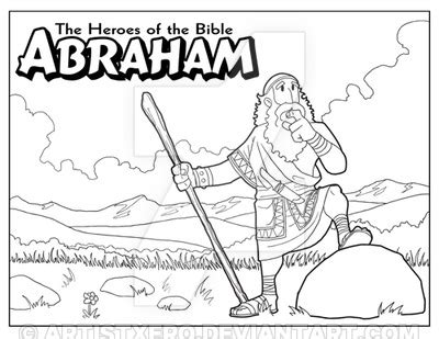 coloring page of abraham from the bible abraham coloring page by artistxero on deviantart