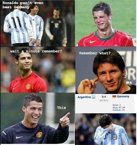 Funny Messi Memes - 172 best messi vs ronaldo images on pinterest football