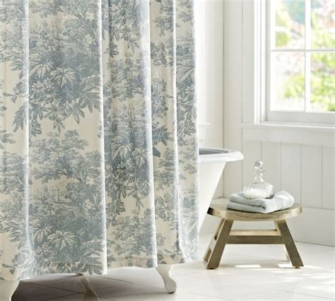 traditional style curtains matine toile shower curtain traditional shower