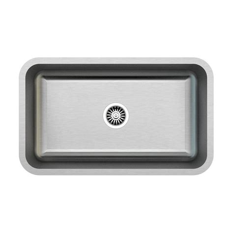Lowes Kitchen Sinks Stainless Kuisinox Kx940 Undermount 30 In Stainless Steel Single Basin Kitchen Sink Lowe S Canada