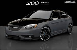 Chrysler 200 Parts Naias Preview Mopar Fiat 500 Chrysler 200 S