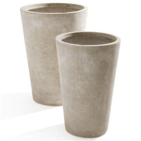 vasi grandi da giardino in plastica vasi da giardino e fioriere in legno verdelook