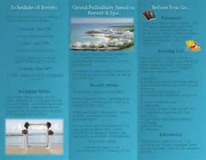 beachbridein11 s pre travel brochure grand palladium