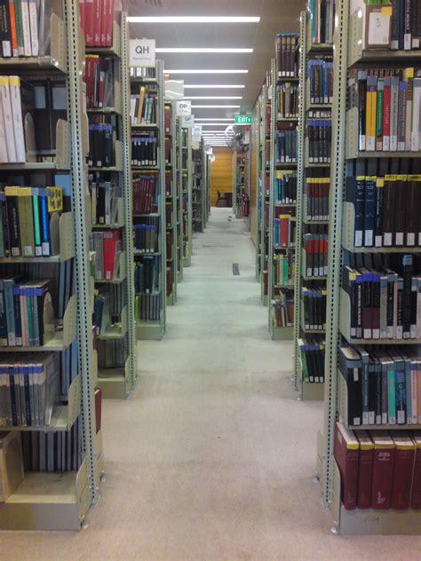 File Old Library Bookshelves Macquarie University Jpg Bookshelves Library
