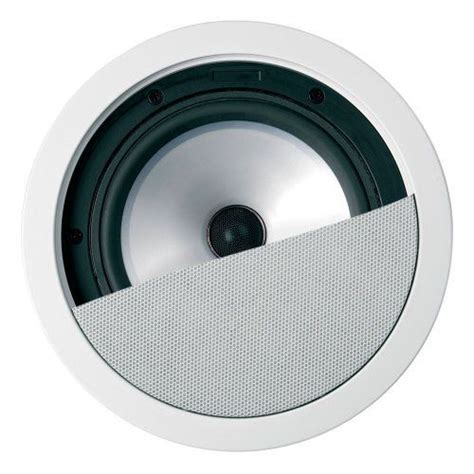 speakers for bathroom ceiling kef ci160 2qr in ceiling speaker with 6 5 quot uni q driver by