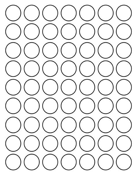 best photos of 1 5 inch circle template printable 1 inch