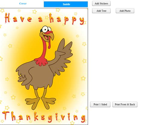 Printable Thanksgiving Cards Free