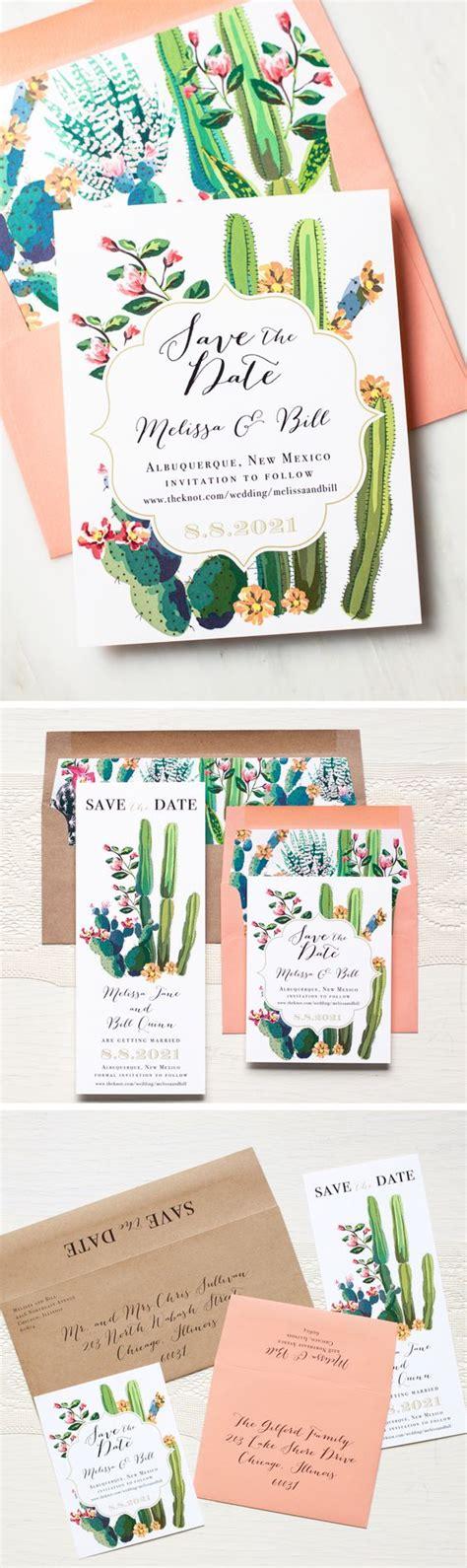 tendencia cactus para las invitaciones de bodas vestidos de novia tendencia cactus para las invitaciones de bodas vestidos de novia