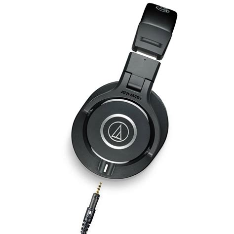 Headphone Audio Technica M40x audio technica ath m40x closed back professional studio monitor headphones black