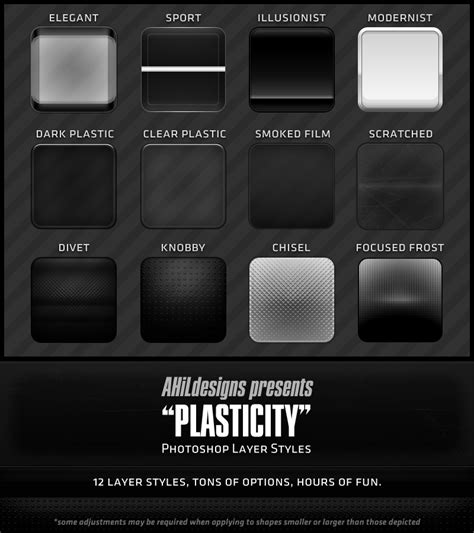 Pattern Layer Style Photoshop | download free plastic photoshop layer styles website