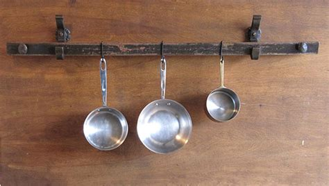 speisekammer groupon kitchen pot hanging rail 10 x s hooks kitchen pot