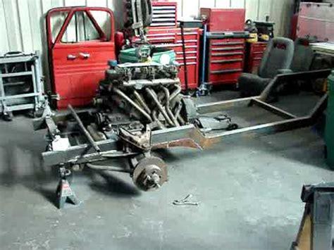 ford truck custom frame build youtube