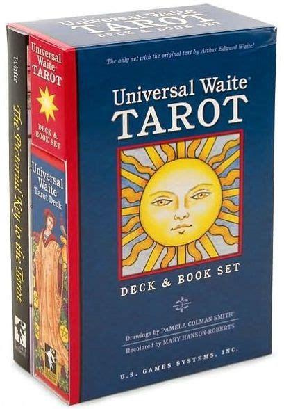 libro universal waite tarot cards universal waite tarot deck and book set by arthur edward waite paperback barnes noble 174