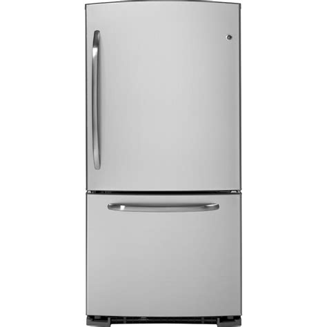 Bottom Freezer Drawer Refrigerator by Ge 174 Energy 174 22 7 Cu Ft Bottom Freezer Drawer Refrigerator Gdsl3kcyrls Ge Appliances