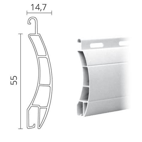 rolladen lamellen maxi ersatz rolladenpanzer lamelle aus kunststoff pvc 55