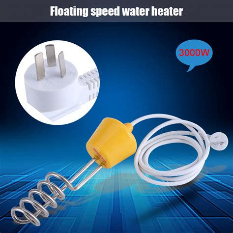 immersion water heater for bathtub 220v 2500w 3000w water heating element immersion heater