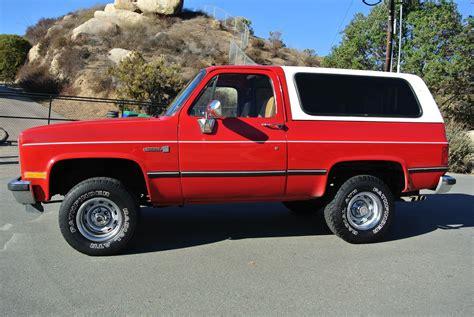 Short Bed Truck Camper Craigslist Gmc Jimmy K5 Chevrolet Blazer 4x4 350 V8 4 Speed Auto Fuel
