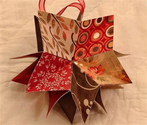 Folded Paper Ornament - 17 best photos of folded paper ornaments folded