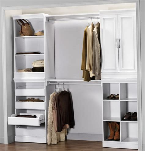 Modular Closet Systems Ikea Home Depot Closet Systems Impressions In D X 120 In W X 83 In H White Elfa Shelves Home Depot