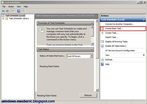 cara membuat xp auto start di windows cara membuat auto shutdown di windows menggunakan task