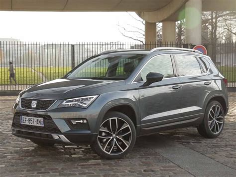 seat ateca xcellence essai seat ateca 1 4 tsi 150 act 4drive xcellence 2016