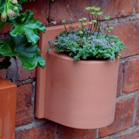 Small Herb Planters by Small Herb Wall Pots Weston Mill Pottery Uk
