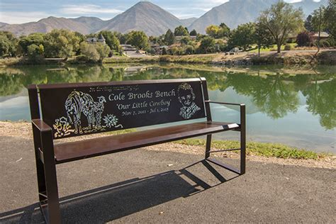 personalized memorial bench memorial benches superior laser cutting