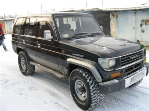 1994 Toyota Specs 1994 Toyota Land Cruiser J7 Pictures Information And