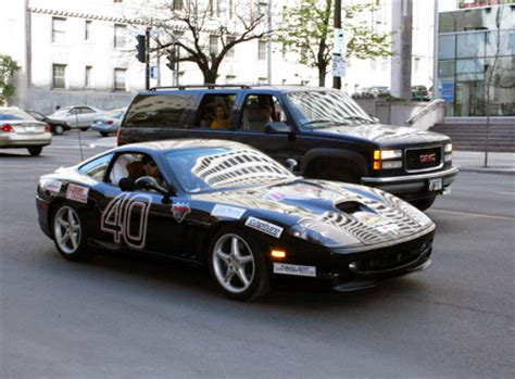 Bullrun Gives A Car by Richard Rawlings Dennis Collins Cannonball Car Interior
