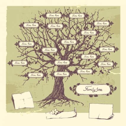 drawing a family tree template family tree template drawing a family tree template