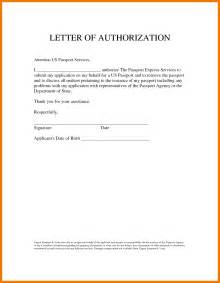 Authorization Letter Visa 6 Authorization Letters To Act On My Behalf Mailroom Clerk