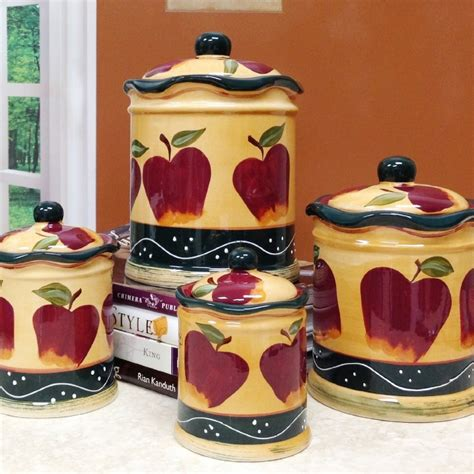 Kitchen Apples Home Decor Apple Kitchen Decorative Sets Roselawnlutheran