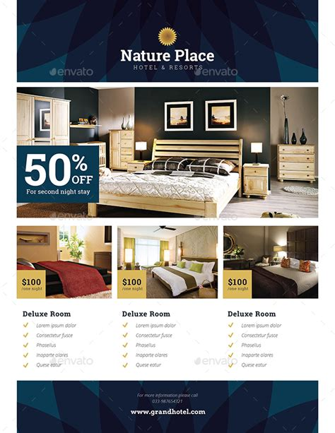 Home Decorative Items by Hotel Flyer By Guuver Graphicriver
