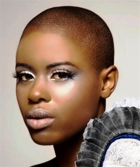 almost bald black hairstyles for woman 134 best bald beauties images on pinterest bald women