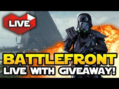 Star Wars Battlefront Xbox One Giveaway - star wars battlefront 2 live gameplay with big giveaway