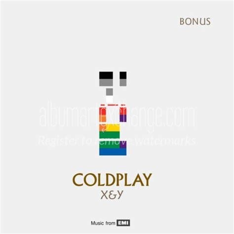 coldplay x and y full album album art exchange x y bonus by coldplay album cover art